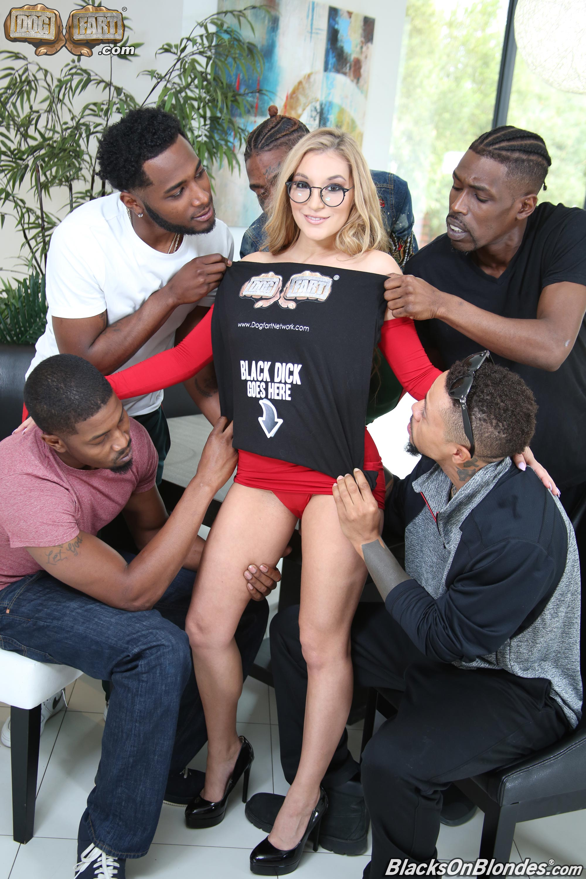 Dogfart 'Moka Mora - Blacks On Blondes' starring Moka Mora (photo 2)