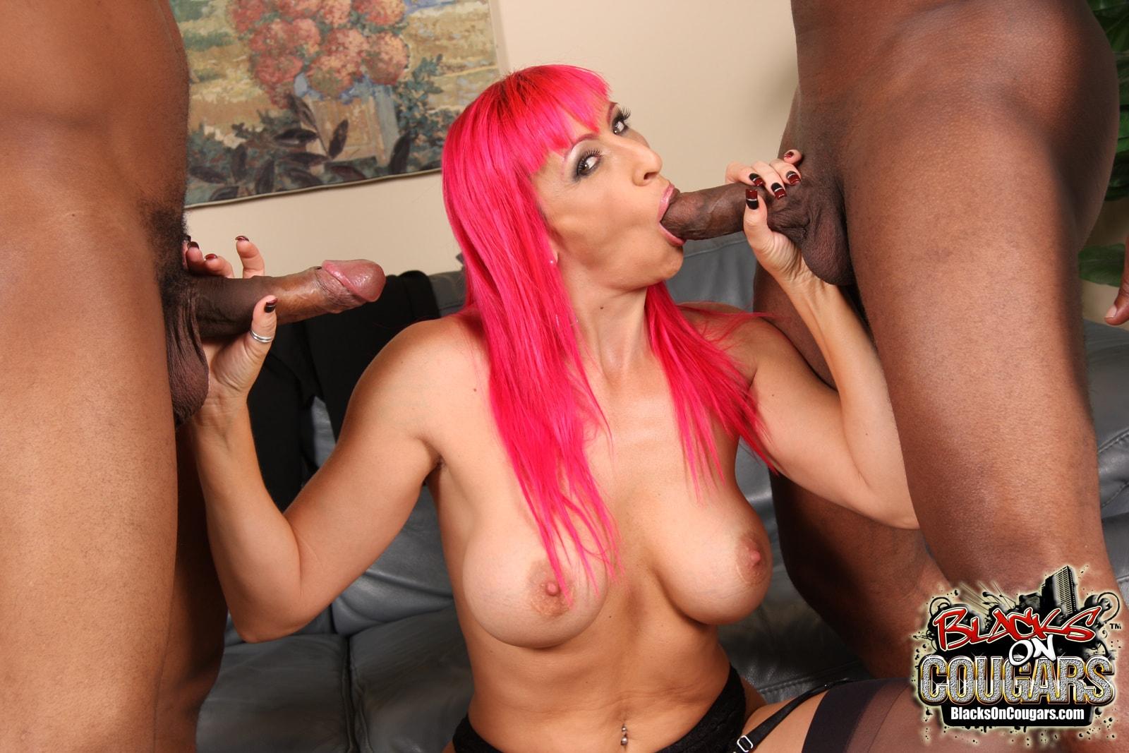 Dogfart '- Blacks On Cougars' starring Raven Black (Photo 12)