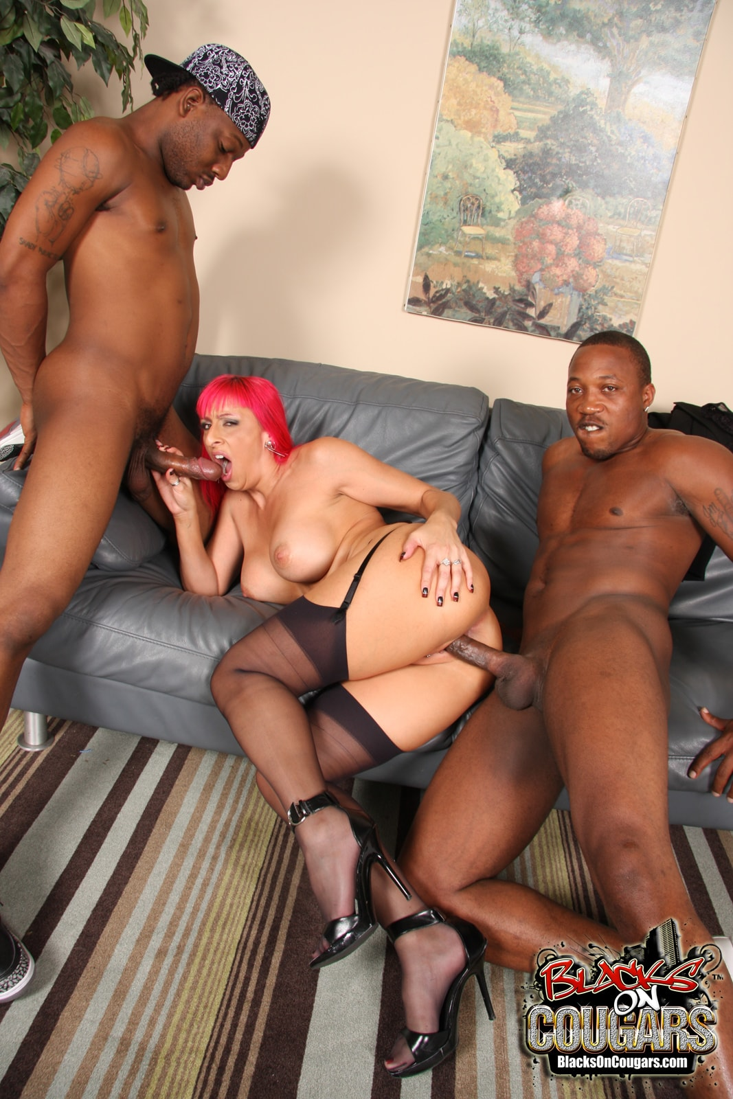 Dogfart '- Blacks On Cougars' starring Raven Black (Photo 27)