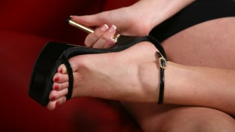 Sierra Sanders in '- Black Meat White Feet'