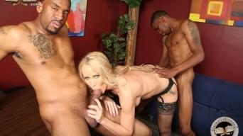 Simone Sonay in '- Blacks On Blondes'