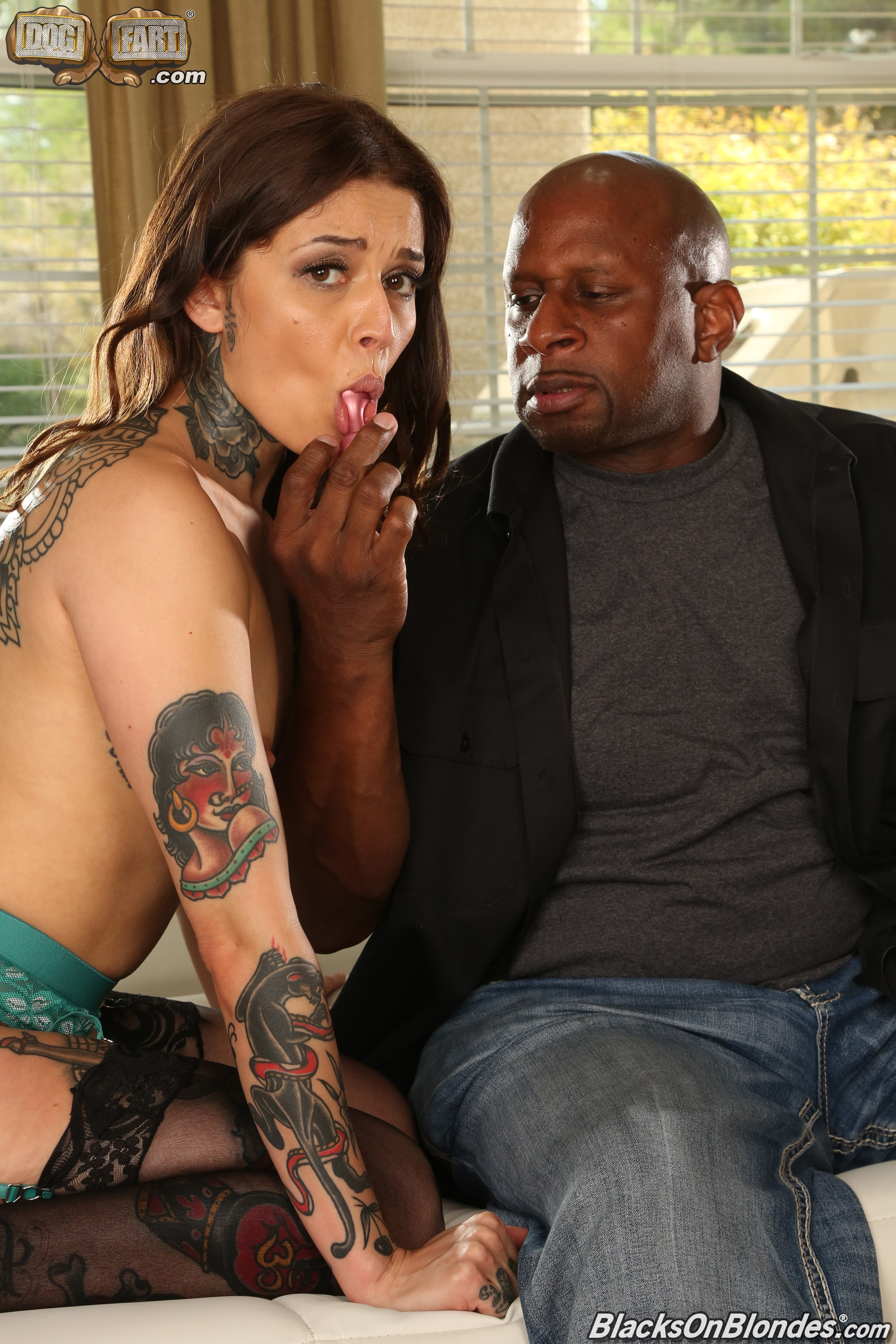 Dogfart '- Blacks On Blondes - Scene 2' starring Vanessa Vega (Photo 6)