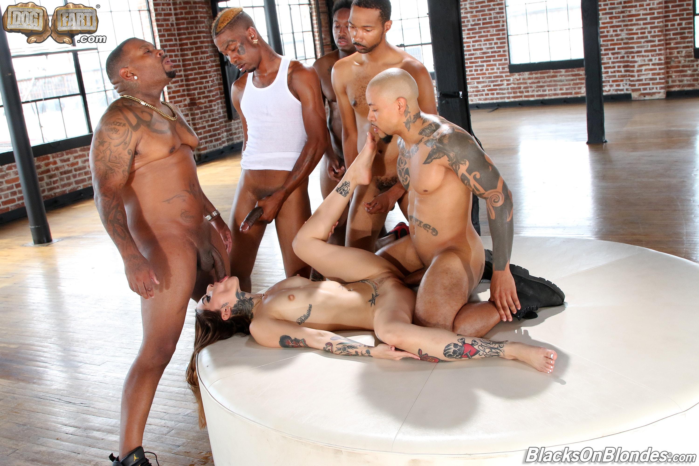 Dogfart '- Blacks On Blondes - Scene 3' starring Vanessa Vega (Photo 9)