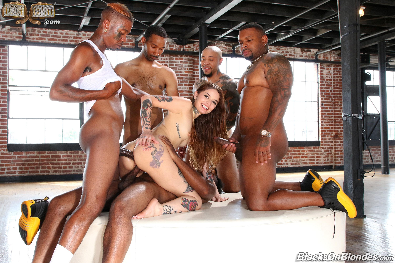 Dogfart '- Blacks On Blondes - Scene 3' starring Vanessa Vega (Photo 22)