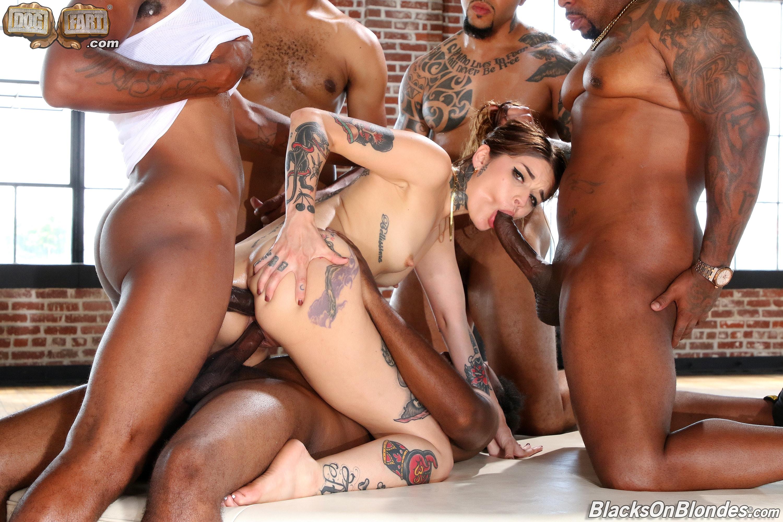 Dogfart '- Blacks On Blondes - Scene 3' starring Vanessa Vega (Photo 23)